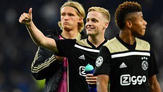 Şampiyonlar Ligi'nde Ajax 23 yıl aradan sonra finalin eşiğinde