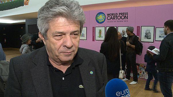 António Antunes: O cartoon reflete as preocupações da população