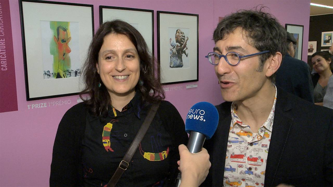 Javier Carbajo & Sara Rojo: Juntos na vida e no desenho