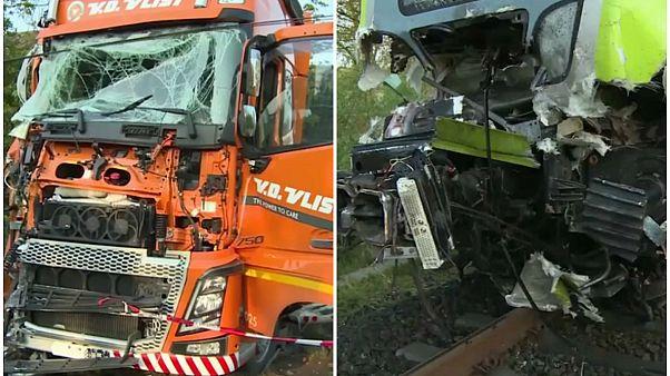 Deutschland: Zugunfall bei Rendsburg - Mehrere Verletzte