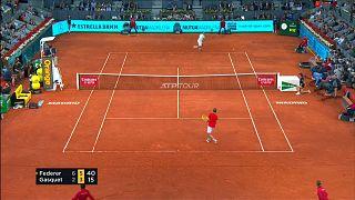 Победное возвращение Федерера на грунт