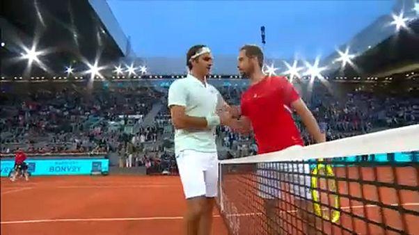 Három év után nyert ismét salakon Federer