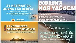 """Turchia, le città sulla costa: """"Non venite in vacanza, nevicherà, restate a Istanbul a votare"""""""