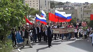 """""""Бессмертный полк"""" прошёл в Израиле"""
