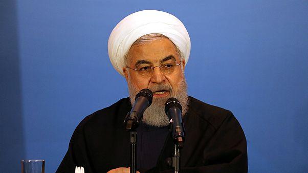 الرئيس الإيراني محمد حسن روحاني