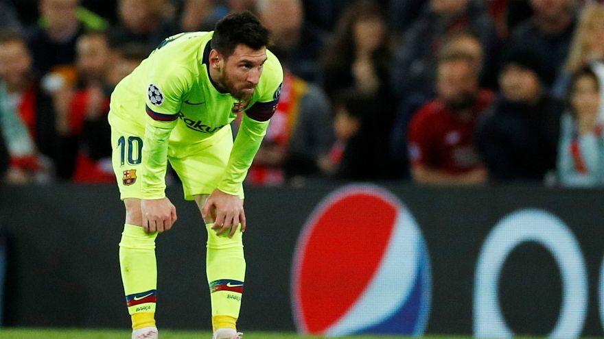 Leo Messi: niente Champions.