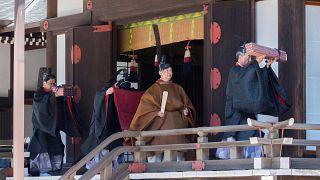 Premier rituel pour Nahurito depuis son accession au trône