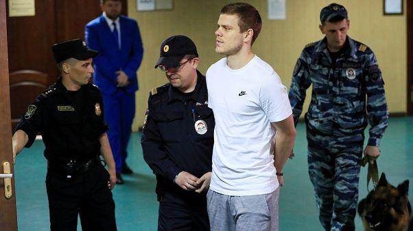 Kokorin y Mamaev, declarados culpables de asalto y vandalismo