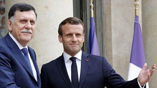 Macron con al-Serraj