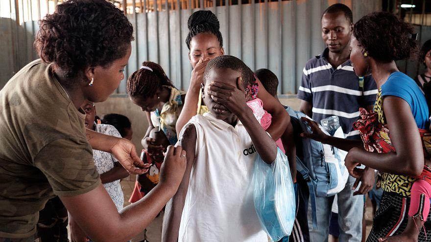 Vai avançar a vacinação de crianças contra o sarampo