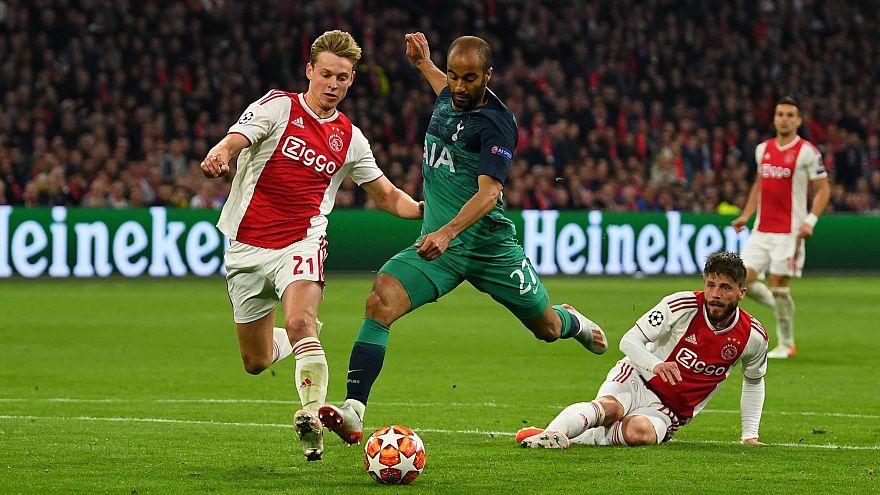 UEFA Şampiyonlar Ligi'nde Ajax'ı deviren Tottenham ilk defa finale yükseldi: 3-2
