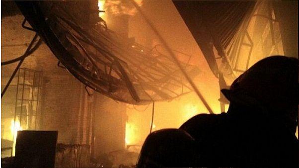 آتشسوزی در بازار تاریخی تبریز مهار شد
