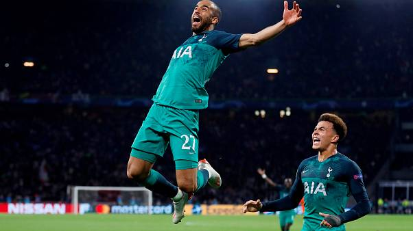 Tottenham beat Ajax to set up an all-English Champions League final with Liverpool