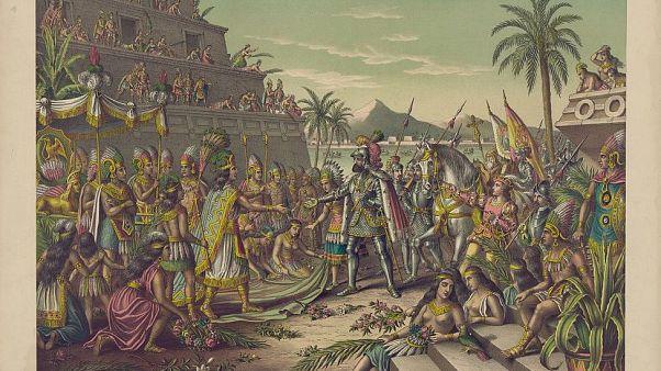 La conquista española causó merma del 85 % de la población indígena en México