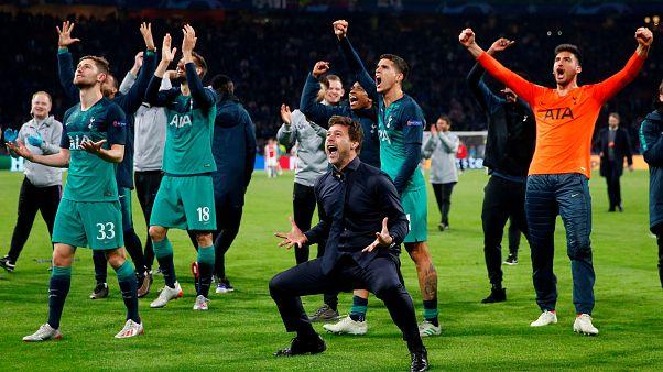 Tottenham celebra milagre face ao Ajax