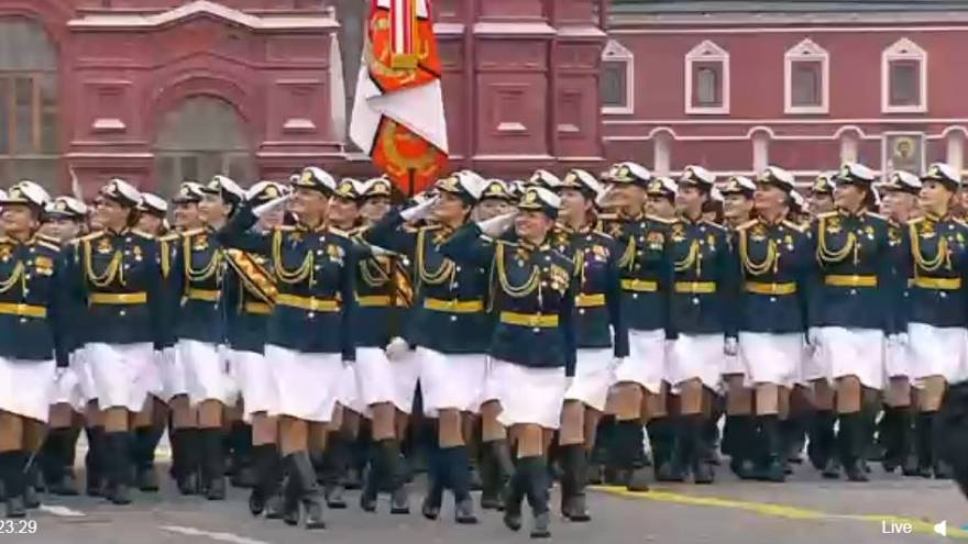 Watch: Russia marks World War Two victory day with huge parade in Red Square