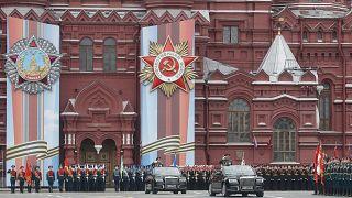 Celebrações do fim da Segunda Guerra Mundial na Rússia