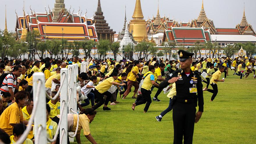 جشن دانههای مقدس برنج در تایلند