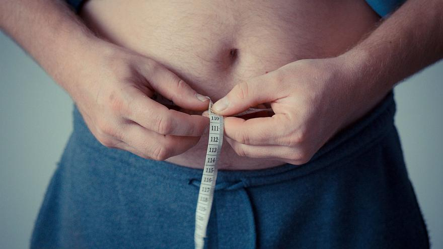 Which country has the highest average BMI in Europe?