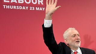 Labour-Chef Jeremy Corbyn während der Wahlkampfveranstaltung