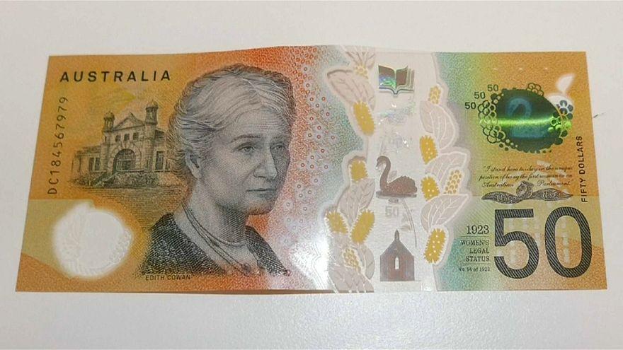 Avustralya: Tedavüldeki 46 milyon adet 50 dolarlık banknotlarda yazım hatası