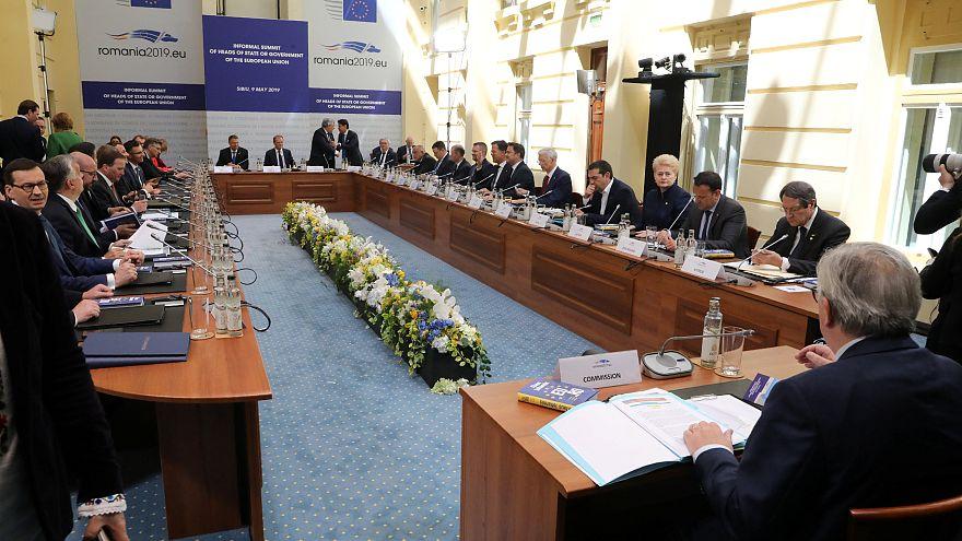 Sibiu: coesione e responsabilità per l'Europa