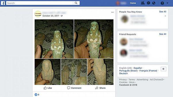 8afd66216 عبر الانترنت.. آلاف القطع الآثرية المنهوبة من الشرق الأوسط تباع في أوروبا