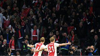 بازی آژاکس و تاتنهام در لیگ قهرمانان اروپا