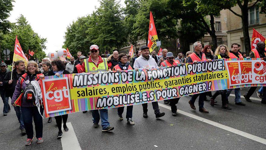 Greve da Função Pública em França