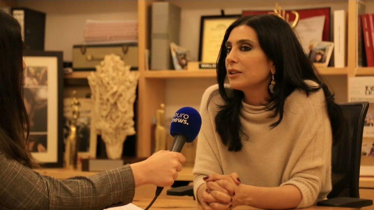 Η Ναντίν Λαμπακί στο euronews