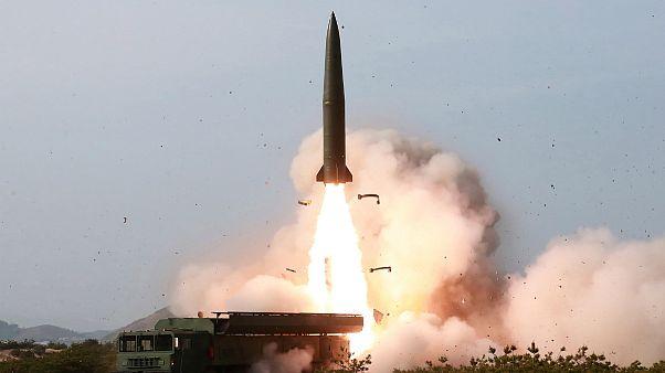زورآزمایی موشکی واشنگتن و پیونگیانگ؛ آمریکا کشتی کرهای را توقیف کرد