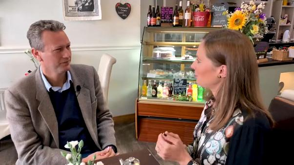 Breakfast with Belle: Conwy, North Wales, with MEP Nathan Gill of UK's Brexit Party