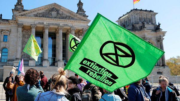 Klímatüntetés Berlinben