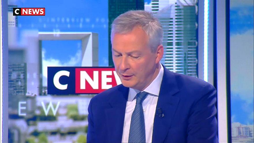 Il Ministro degli Esteri francese, Bruno Le Maire