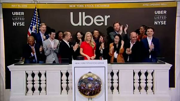 Estreno de Uber en la bolsa de Nueva York