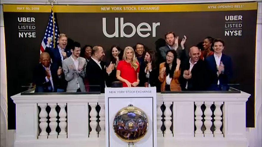 Uber fait son entrée à la Bourse de New York