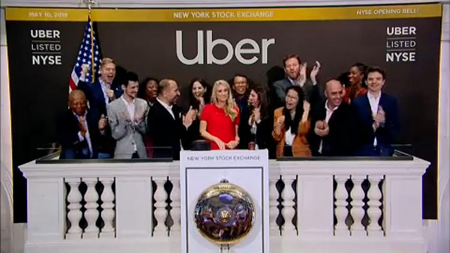 Uber entra na bolsa de Nova Iorque