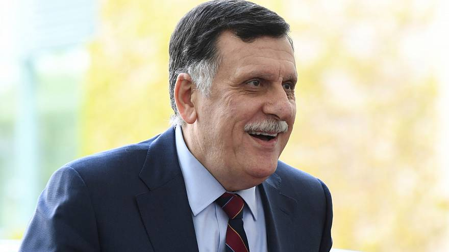 السراج يناشد الرئيس الأمريكي منع داعمي حفتر من التدخل في الشأن الليبي