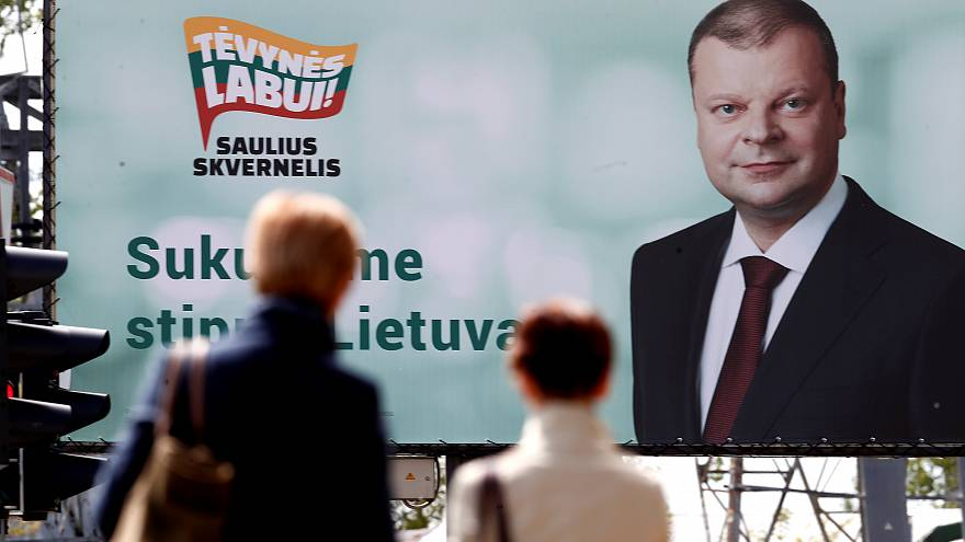 Lithuania presidential election: PM Skvernelis to resign after losing in first round