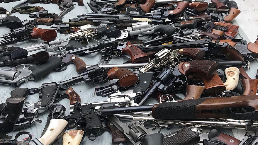 Million dollar gun stash seized from house in Beyonce's neighbourhood