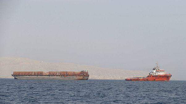 نمایی از خلیج فارس در سواحل عمان (عکس تزئینی است)