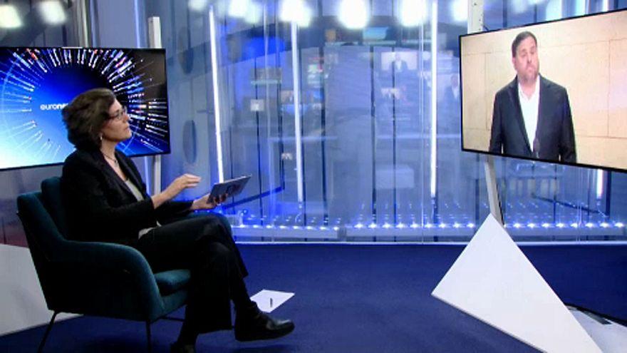 Ο Οριόλ Γιουνκέρας μιλά στο euronews