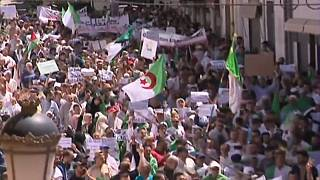 Massenproteste in Algerien gegen Übergangsregierung