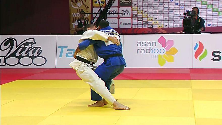 Grand Slam de Baku: Catarina Costa conquista a medalha de bronze
