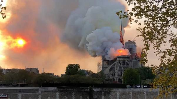 Notre Dame fire: French MPs pass law to rebuild fire-ravaged cathedral in five years