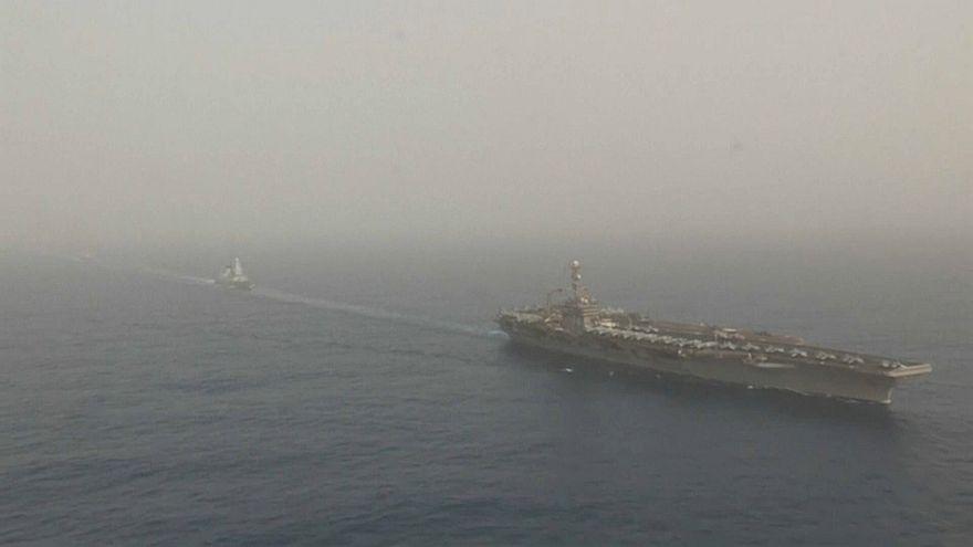 Atomkonflikt mit dem Iran: USA erhöhen Militärpräsenz im Nahen Osten