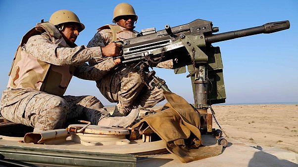 عناصر من البحرية السعودية