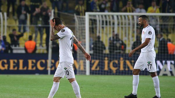 Ziraat Türkiye Kupası ve Süper Kupa şampiyonu Akhisarspor küme düştü