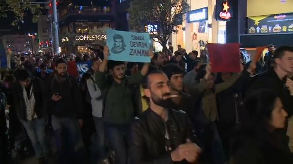 Стамбул: марш протеста против перевыборов