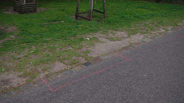 """Un parque de Berlín delimita """"rectángulos rosas"""" para narcotraficantes"""